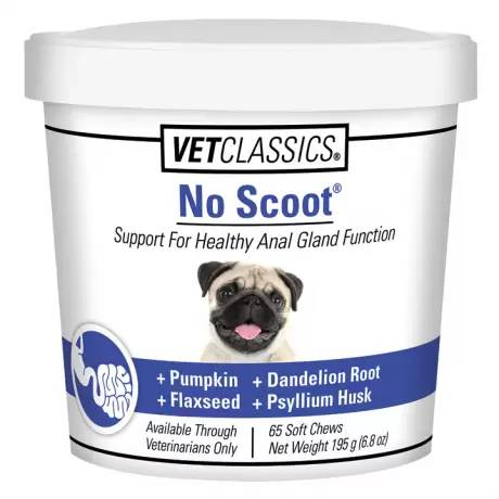 No Scoot for Dogs Vet Classics - 65 Soft Chews
