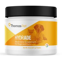 Hydrade Electrolyte Supplement - 8oz Powder for Dogs and Cats