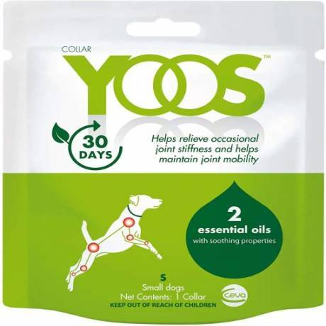 YOOS - 1 Collar for Small Dogs Essential Oils with Soothing Properties