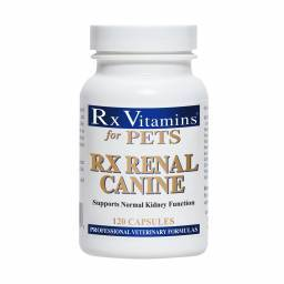 Rx Renal - Canine, 120 Capsules for Dogs Kidney Function