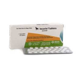Incurin Tablets for Dogs (estriol) Urinary Incontinence