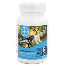 Free Form Omega-3 Fish Oil Snip Tips - Small Dogs and Cats