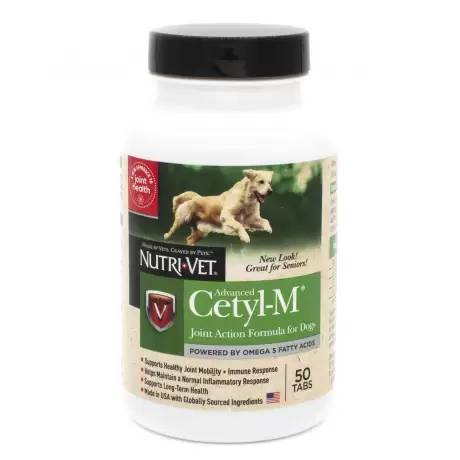 Advanced Cetyl M - for Dogs Joint Action Formula, 50 Tablets