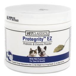 Protegrity Probiotic and Enzyme for Dogs and Cats - EZ Powder, 4oz (114g)