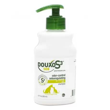 DOUXO S3 SEB for Dogs and Cats Ophytrium Shampoo 200mL