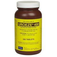 Uroeze (ammonium chloride) urinary acidifier for dogs and cats