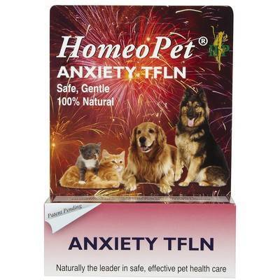 HomeoPet Anxiety TFLN Drops for Dogs and Cats