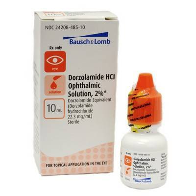 Dorzolamide Ophthalmic Soln 2%