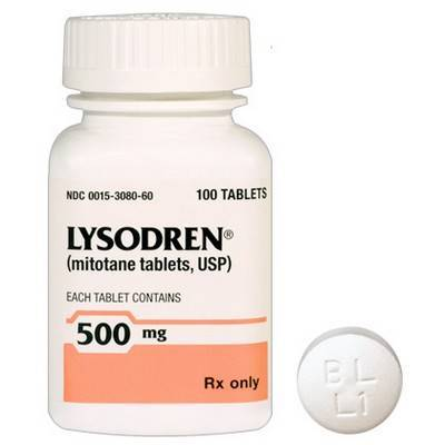 Lysodren for Cushing's disease in dogs