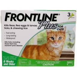 FRONTLINE Plus for Cats flea and tick protection