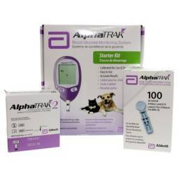 AlphaTrak 2 blood glucose monitoring system for pets