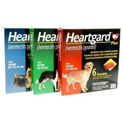 Heartgard Plus Chewable for Dogs Heartworm Preventative