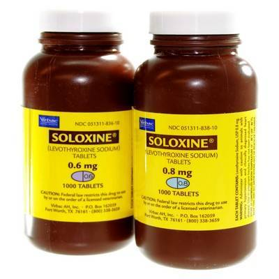Soloxine tablets for hypothyroidism in dogs