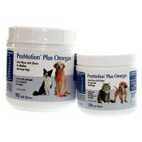 ProMotion Plus Omegas with Leucoselect Bioflavanol for Pets