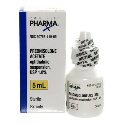 Prednisolone Acetate Ophthalmic Suspension Usp 1 Used