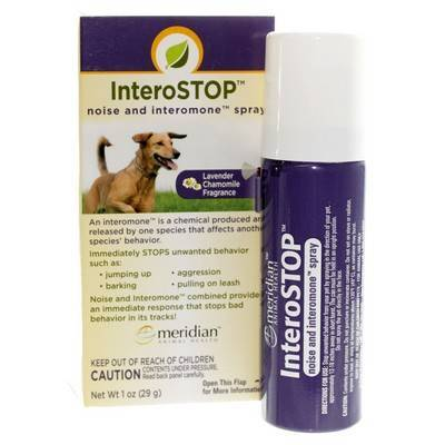 InteroSTOP noise and interomone spray for dogs