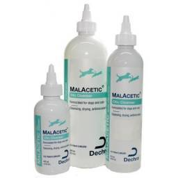 MALACETIC Otic is a unique, all natural, environmentally sensitive solution designed for routine ear cleaning and drying in dogs and cats.