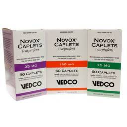 Novox Caplets Pain Reliever nsaid for Dogs