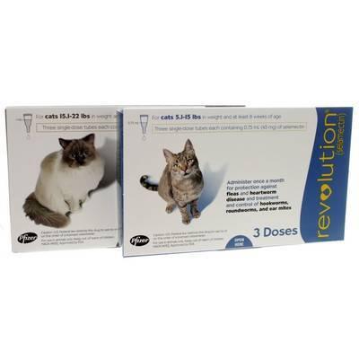Revolution For Cats Heartworm Flea Med Vetrxdirect