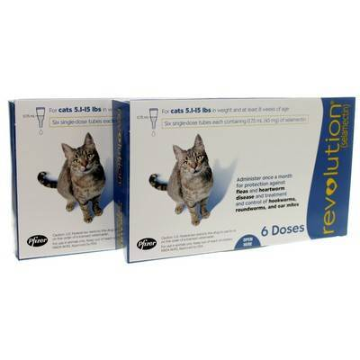 Revolution For Cats Heartworm Flea Med Vetrxdirect