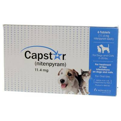 Capstar Tablets Flea Treatment Tablets For Dogs And Cats Vetrxdirect