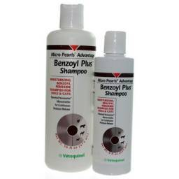 Benzoyl-Plus Shampoo for Dogs and Cats