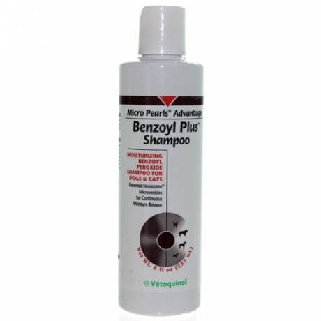Benzoyl-Plus Shampoo for Dogs and Cats 8oz