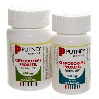 Cefpodoxime Proxetil (Generic) Tablets