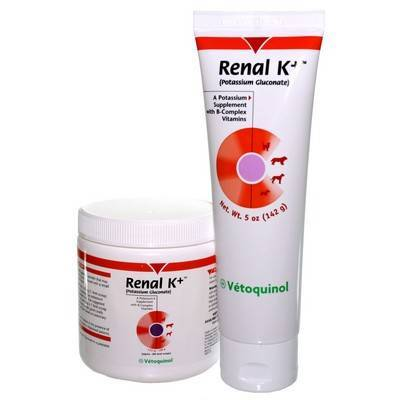 Renal K+ (potassium gluconate) for Pets