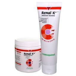 Renal K+ for Cats and Dogs (potassium gluconate)
