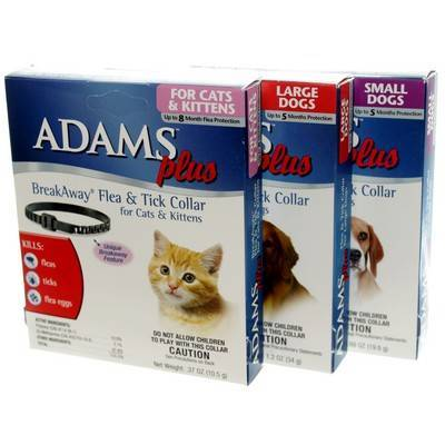 Adams Plus Flea And Tick Collar For Dogs And Cats