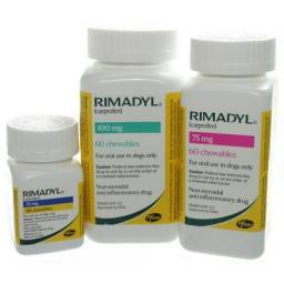 Rimadyl Chewable tablets for joint pain and inflammation in dogs