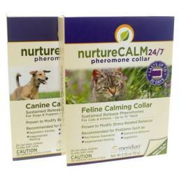 NurtureCALM 24/7 Pheromone Collar for Dogs and Cats