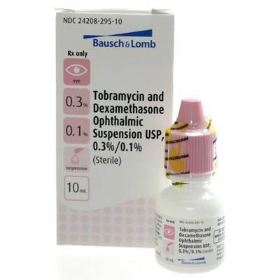 Tobramycin And Dexamethasone Eye Drops For Pets Vetrxdirect