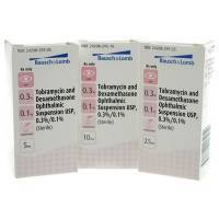 Tobramycin and Dexamethasone Eye Drops for pets