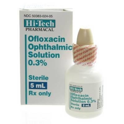 Ofloxacin Otic Drops