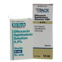 Ofloxacin Antibacterial Eye Drops for Pets