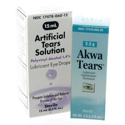 Akwa Tears Lubricant Eye Drops for Pets