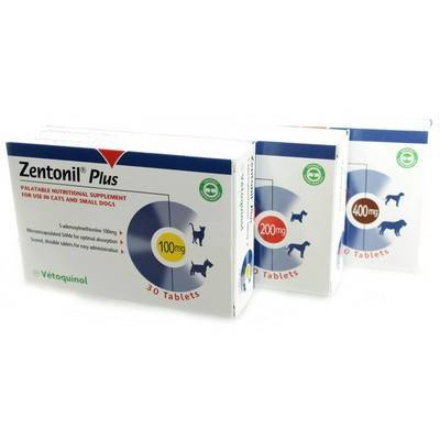 Zentonil Plus S-adenosylmethionine Nutritional Supplement for Pets