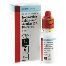 Tropicamide Eye Drops for Dogs