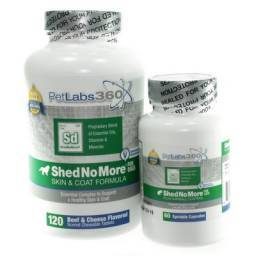Shed No More Pet Skin and Coat Formula
