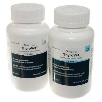 Thyrovet Levothyroxine Tablets For Dogs Vetrxdirect