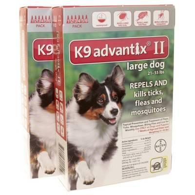 K9 Advantix Ii For Dogs Flea And Tick Control Vetrxdirect