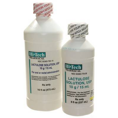 Lactulose Solution stool softener to treat constipation in cats