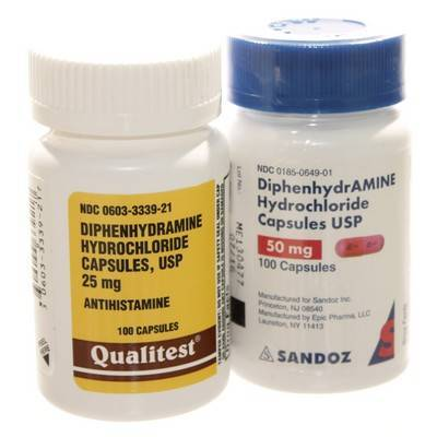 Diphenhydramine Hcl For Dogs