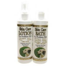 Skin Care Bath or Lotion for Dogs and Cats