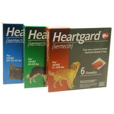 Dog Heartgard Ivermectin Chewables