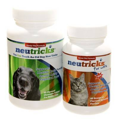 Neutricks (apoaequorin) Senior Pet Formula Chewable Tablets for Senior Dogs.
