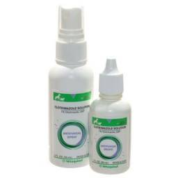 Clotrimazole Topical Solution 1% for Dogs and Cats
