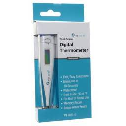 Dual Scale Waterproof Digital Thermometer for Pets